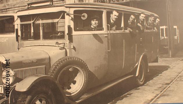 Автобус 30-х годов, Краков