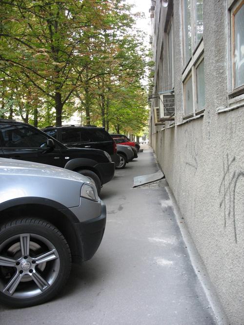 Парковка в Харькове