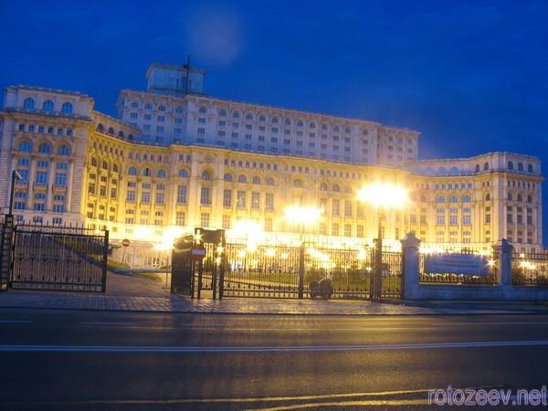 Дворец парламента, Бухарест