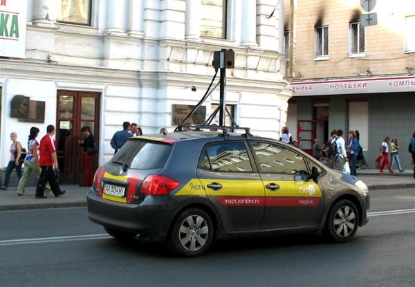 Автомобиль Яндекса