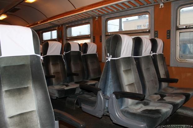 Поезд Харьков-Белгород: места в вагоне