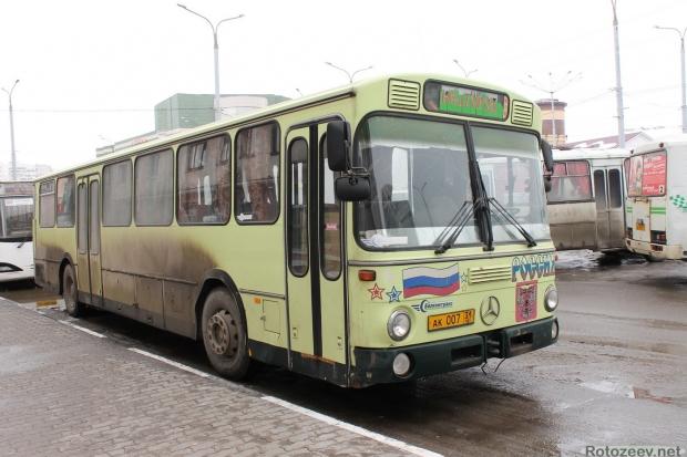 Автобус в Белгороде