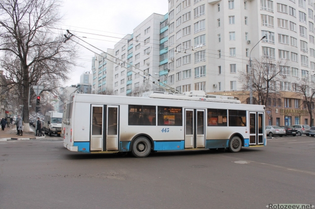Улицы Белгорода - троллейбус