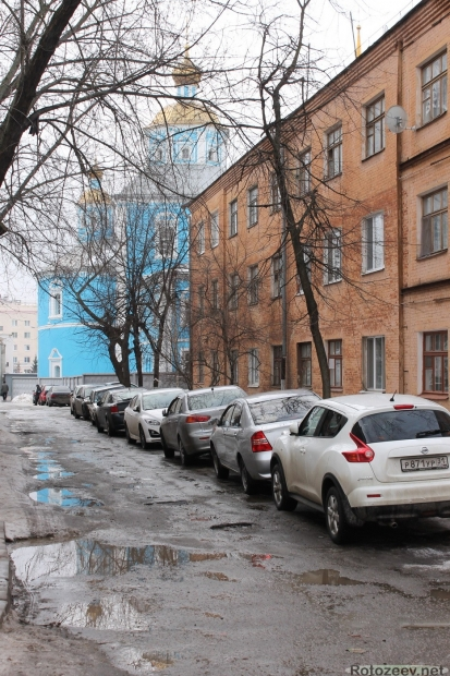 Улицы Белгорода - дорога к храму