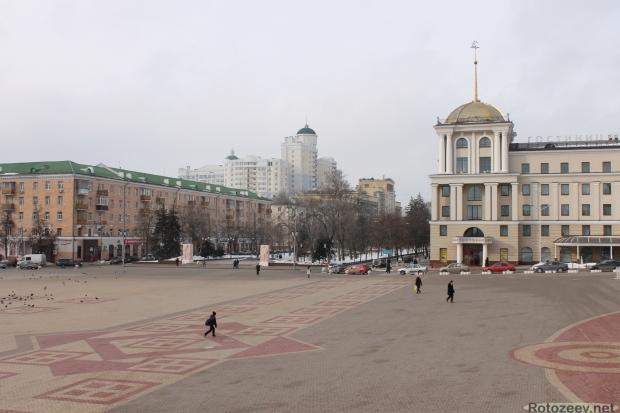 Улицы Белгорода - центральная площадь