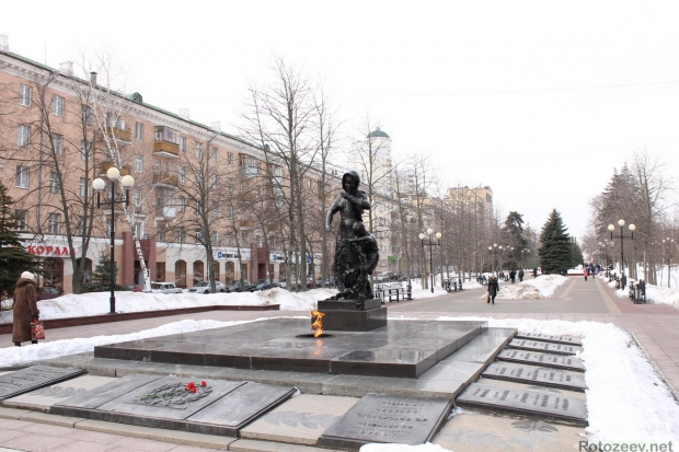 Улицы Белгорода - вечный огонь