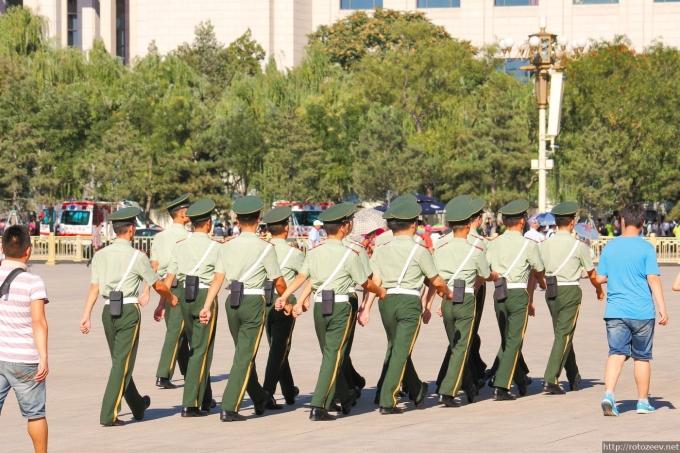 Пекин, Тяньаньмень