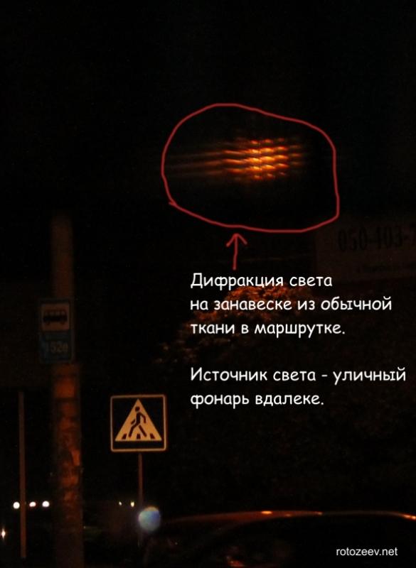 Как увидеть дифракцию