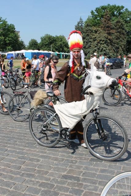 Индеец и его конь