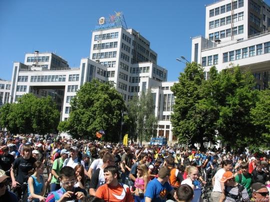 Велодень 2011 - перед стартом