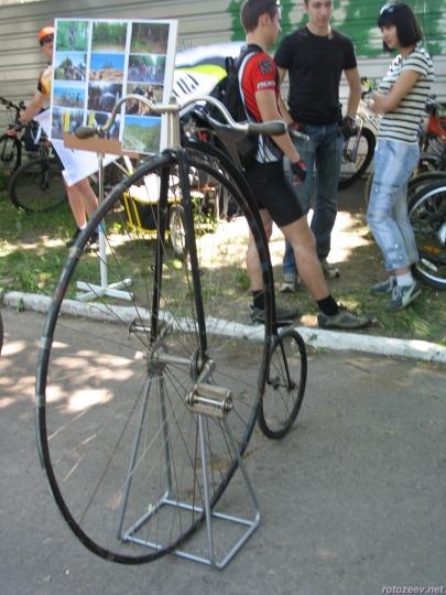 Велодень 2011 - ретро велосипед