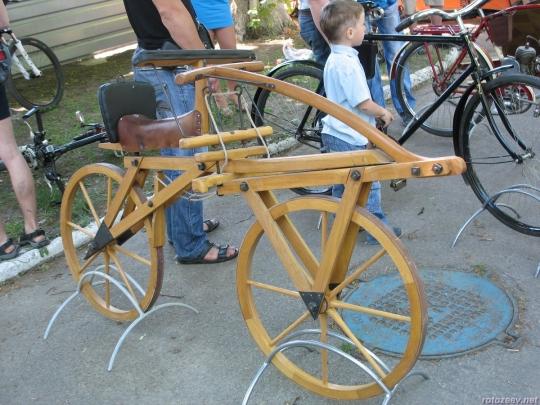 Велодень 2011 - прототип велосипеда