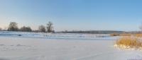 Замерзший Северский Донец