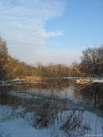 Северский Донец зимой