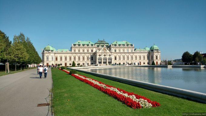 Belvedere, Вена