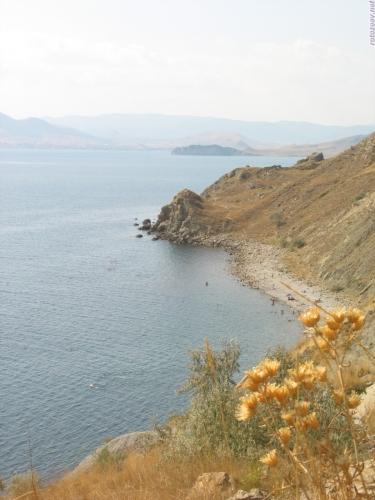 Дальний пляж в Орджоникидзе