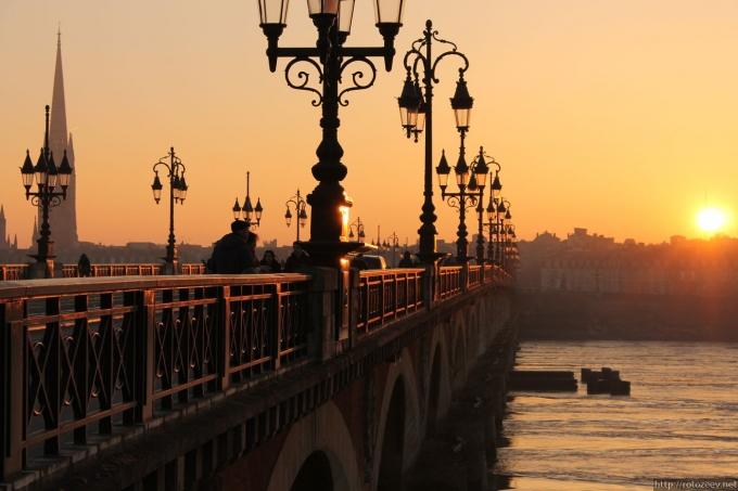 Бордо, Франция мост