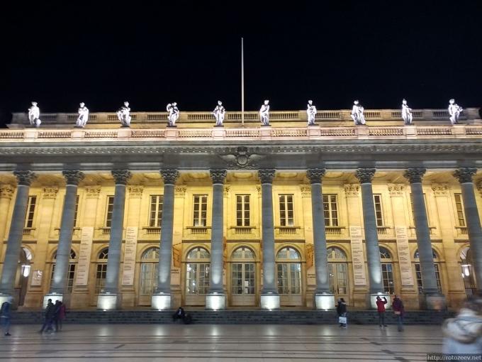 Бордо, Франция театр