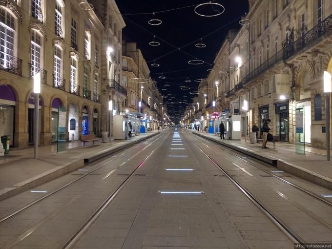 Бордо, Франция улица