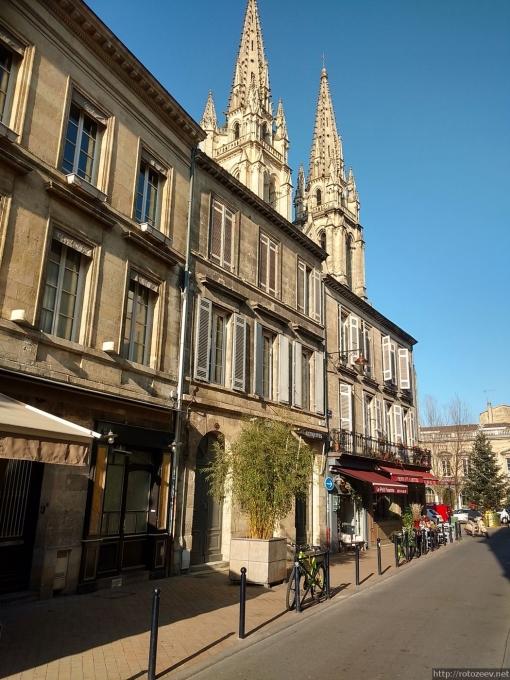 Бордо, Франция улицы