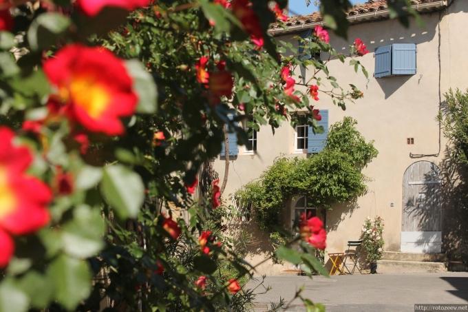 Прованс, Франция day2_lourmarin_2