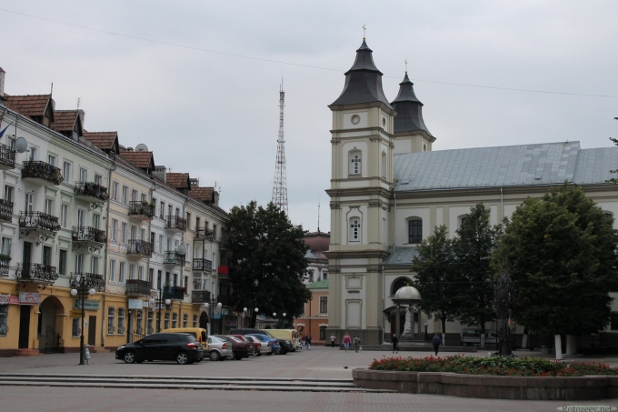Центр Ивано-Франковска