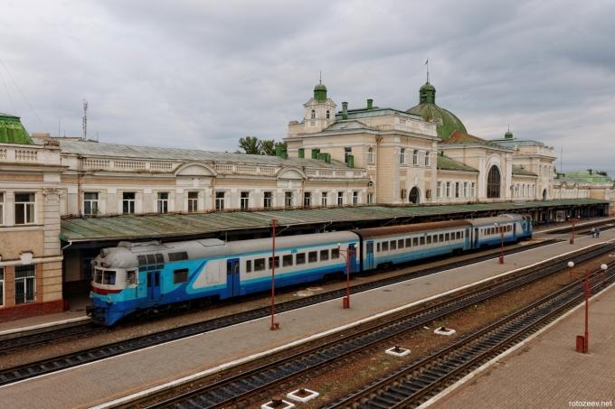 Вокзал Ивано-Франковска