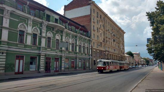 Полтавский Шлях и трамвай
