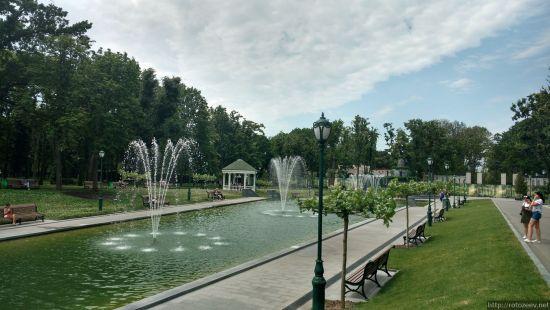 Сад Шевченко в Харькове