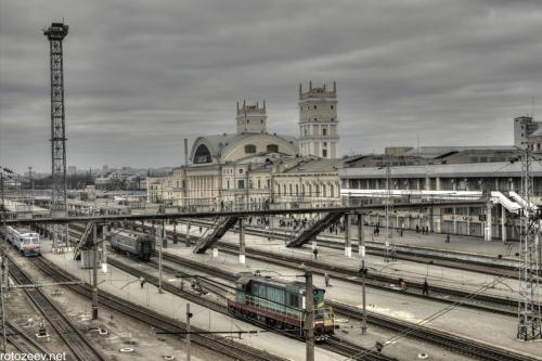 Южный вокзал в Харькове