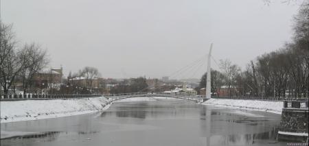 Зима в Харькове
