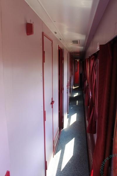 Международный вагон Риц. Поезд Киев-Вроцлав.