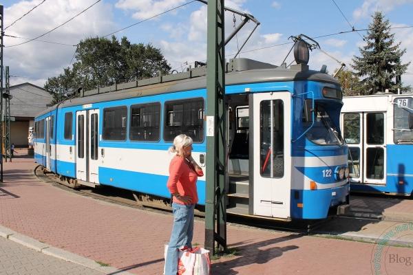 Трамваи в Кракове