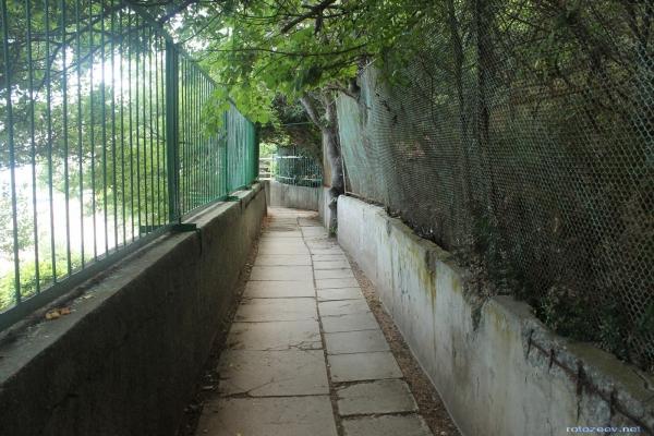 Дорога в Ялту из Ливадии