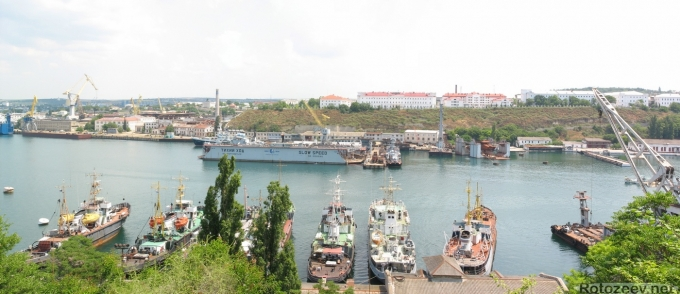 Севастополь, корабли