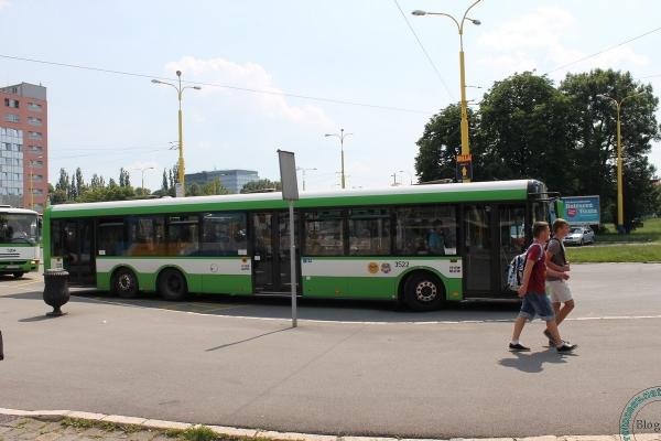 Городской автобус в Кошице