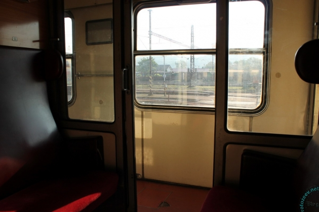 Купе поезда в Словакии