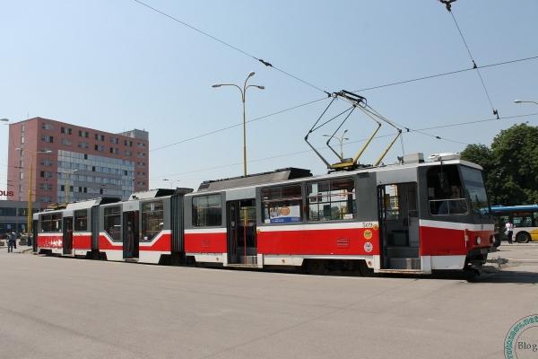 Трамвай в Кошице