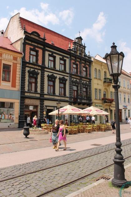 Центральная улица в Кошице
