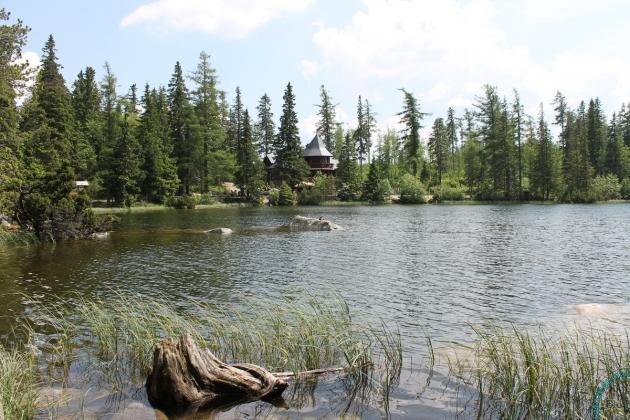 Горное озеро в Словакии, Высокие Татры