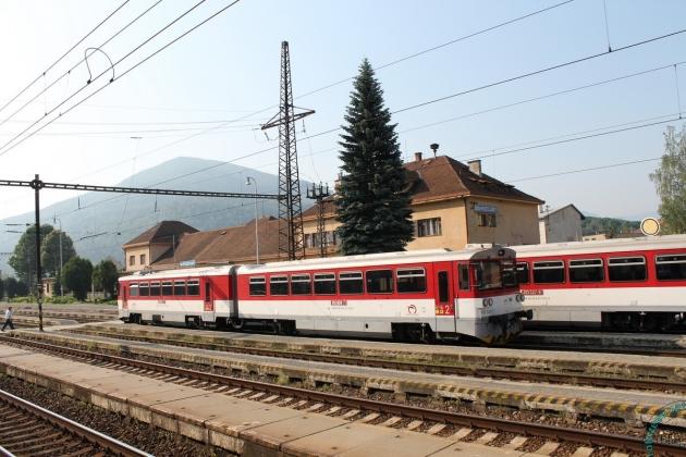Словакия: рельсовые автобусы