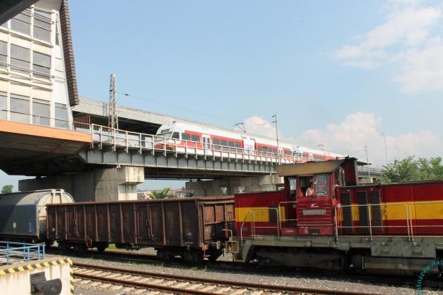Железнодорожный вокзал в Попраде