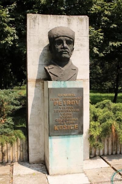 Памятник советскому военноначальнику в Словакии, Кошице
