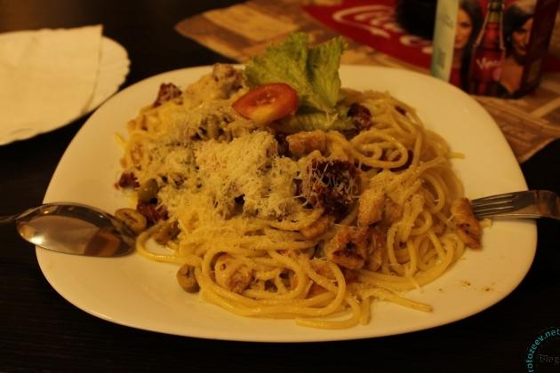 Спагетти в ресторанчике Кошиц