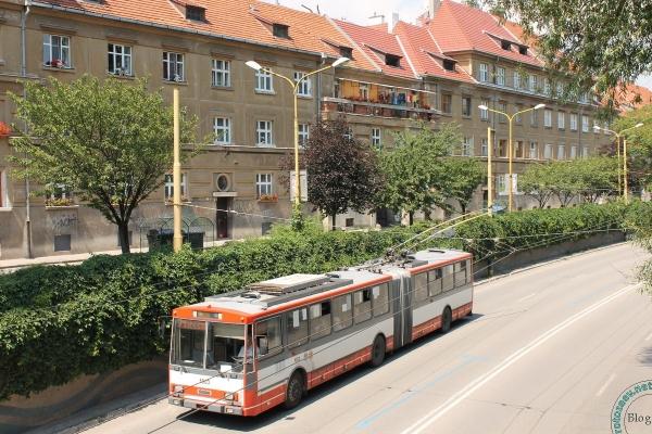Троллейбусы в Словакии, Кошице