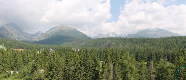 Вид из окна. За горами Польша.