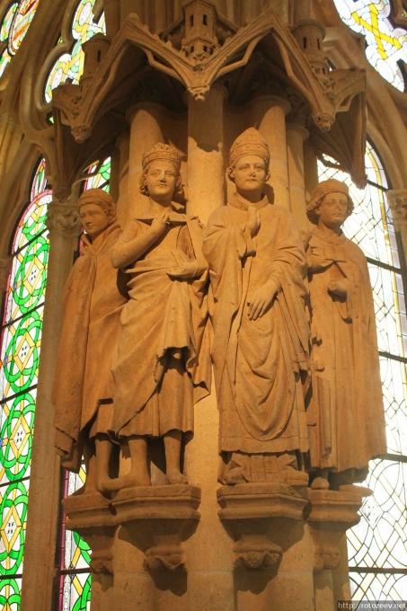 Бургос, Испания. Кафедральный собор Богоматери.