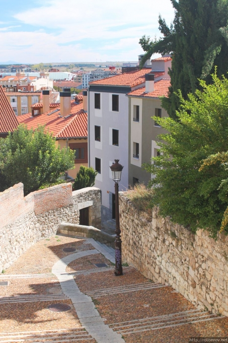 Бургос, Испания. Улицы.