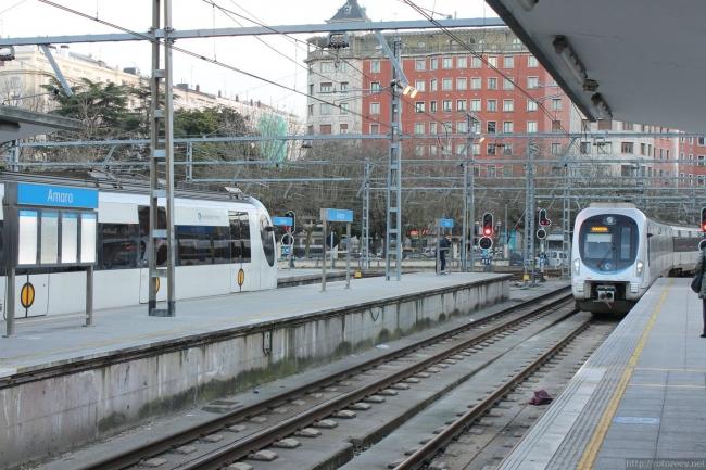 Сан-Себастьян - вокзал