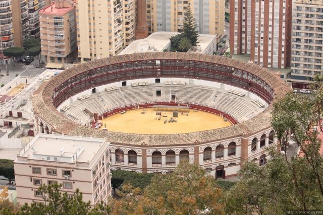Малага - арена для Корриды